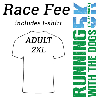 2017 RWTD Race Fee – Adult 2XL Shirt