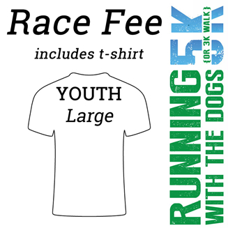 2017 RWTD Race Fee – Youth Large Shirt